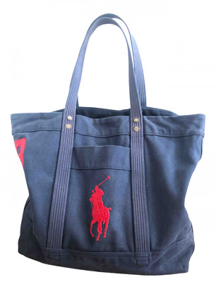 Polo Ralph Lauren Blue Cotton Bags