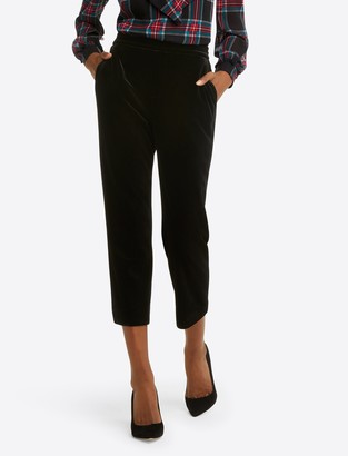 Draper James Pull on Pant in Velvet
