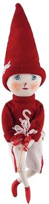 C&F Home Hollis Team Snowman Joe Spencer Gathered Traditions Art Doll
