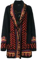 Etro Chinese motif cardi-coat