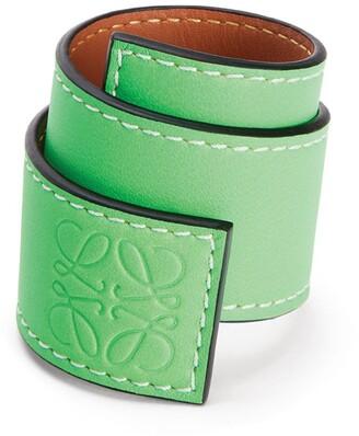 Loewe Leather Snap Bracelet