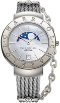 Charriol Women's Swiss St. Tropez Stainless Steel Cable Bracelet Watch (35mm)