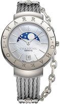 Charriol Women's Swiss St. Tropez Stainless Steel Cable Bracelet Watch (35mm)
