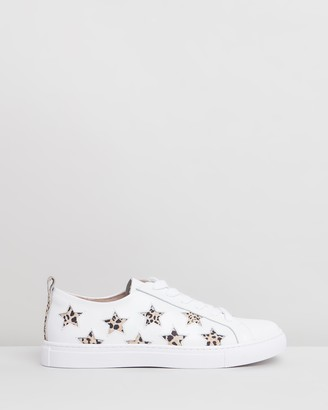 Walnut Melbourne Haven Leather Sneakers