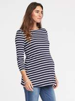 Old Navy Maternity Long & Lean Semi-Fitted Top