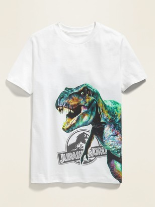 Old Navy Jurassic World Oversized T-Rex Graphic Gender-Neutral Tee for Kids