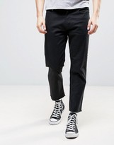 Obey Raw Hem Jeans In Slim Fit