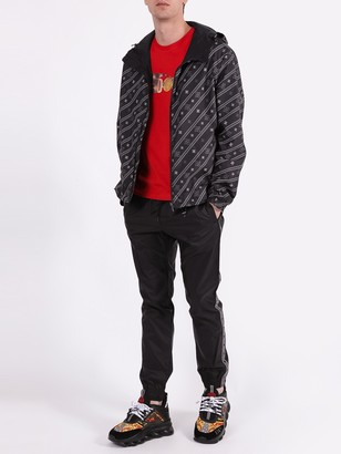 Fendi Karligraphy Reversible Jacket Black & Grey