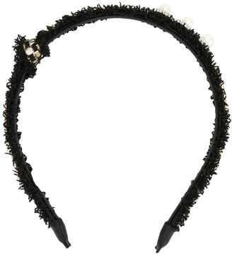 Venna Crystal-Embellished Headband