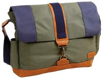 J World Jworld Sam Canvas Messenger Bag - Khaki