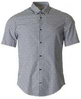 BOSS GREEN C Bustiano Short Sleeved Gingham Shirt