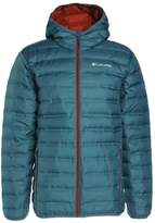Columbia Lake Hooded Down Jacket Blue Heron