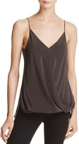 Bailey 44 Falafel Silk Bubble-Hem Tank