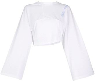 MM6 MAISON MARGIELA Asymmetric Wide Sleeve Top