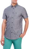 Ben Sherman Chambray Ice Cream Cone Shirt