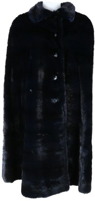 Christian Dior Black Mink Coat for Women
