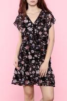 Greylin Floral Woven Dress
