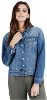True Religion Womens Trucker Denim Jacket