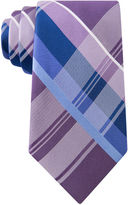 STAFFORD Stafford Lakeside Plaid Silk Tie - Extra Long