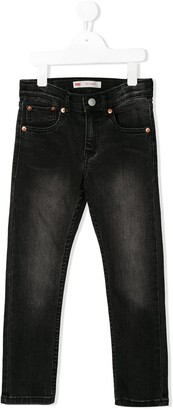 Levi's Kids faded skinny jeans