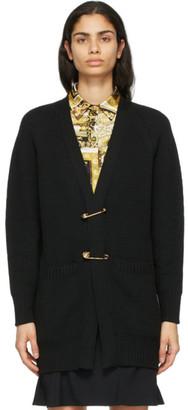 Versace Black Pin Cardigan