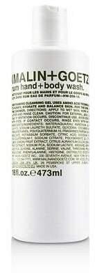 Malin+Goetz NEW Rum Hand+Body Wash 473ml Perfume