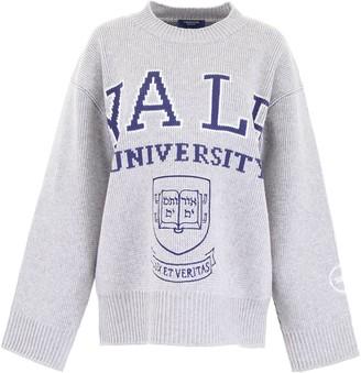 Calvin Klein Yale Logo Oversized Sweatshirt