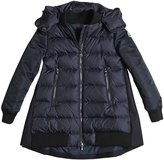 Moncler Blois Nylon & Wool Down Coat