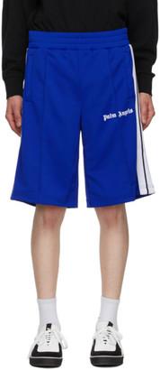 Palm Angels Blue Classic Track Shorts