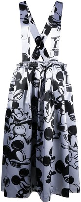 Comme des Garcons Mickey Mouse-print skirt