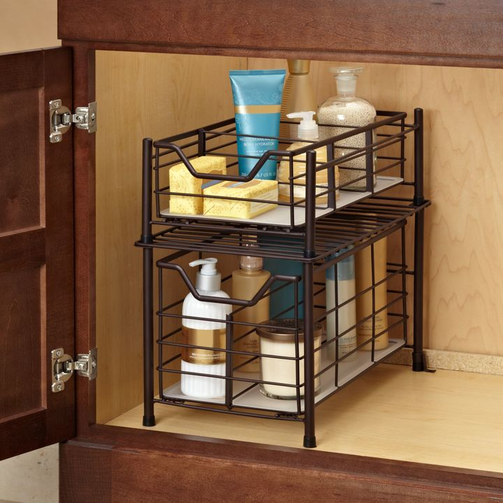 Bed Bath & Beyond Deluxe Bathroom Cabinet Drawer in Bronze