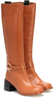 Joseph Leather knee-high boots