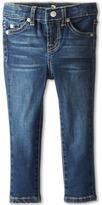 7 For All Mankind Kids - Skinny Jean in Nouveau New York Dark Girl's Jeans