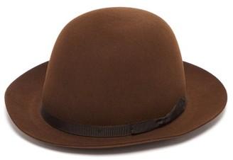 Lock & Co Hatters Voyager Felt Trilby Hat - Mens - Brown