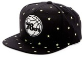 Mitchell & Ness 76ers Starry Night Glow-in-the-Dark Snapback