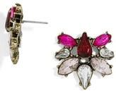 BaubleBar Women's Fantasia Crystal Stud Earrings
