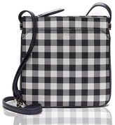 Tommy Hilfiger Final Sale-Gingham Saffiano Crossbody