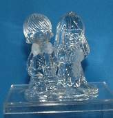 Precious Moments Crystal Figurine - The Lord Bless You and Keep You