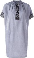 J.W.Anderson striped shift dress - women - Cotton/Polyamide - 8