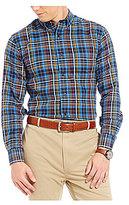 Daniel Cremieux Signature Non-Iron Plaid Long-Sleeve Shirt