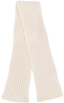 Agnona Rib Knit Scarf