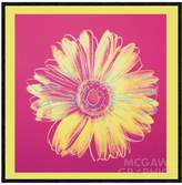 McGaw Graphics Daisy, c. 1982 (Fuchsia and Yellow) Art Block by Andy Warhol