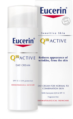 Eucerin Q10 Active Anti-Wrinkle Day Cream For Normal To Combination Skin Spf15 50Ml