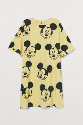 H&M Printed T-shirt dress