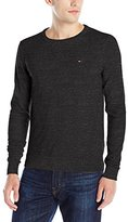 Tommy Hilfiger Men's Original Cotton Blend Crew Neck Long Sleeve Sweater