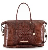 Brahmin 'Duxbury' Leather Travel Bag - Brown