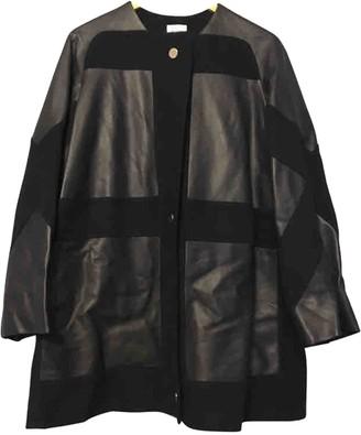 Hermes Navy Cashmere Coat for Women