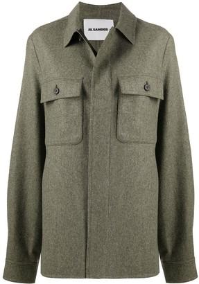 Jil Sander Buttoned Straight-Fit Jacket