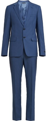 Prada single-breasted Oxford suit