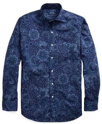 Ralph Lauren Classic Fit Paisley Shirt